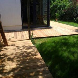 pavimenti in legno moduli esterno Modena