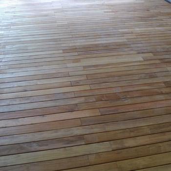 posa pavimenti in legno esterno modena