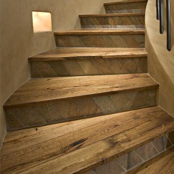 restauro scale in legno modena